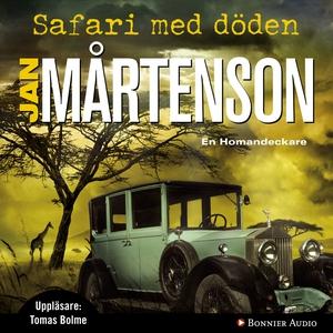 Safari med döden (ljudbok) av Jan Mårtenson