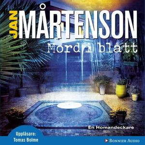 Mord i blått (ljudbok) av Jan Mårtenson