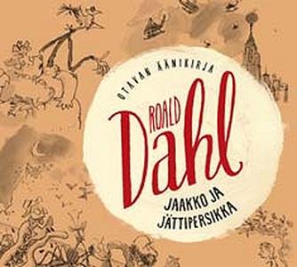 Jaakko ja jättipersikka (ljudbok) av Roald Dahl