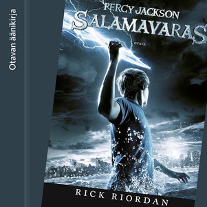 Salamavaras (ljudbok) av Rick Riordan