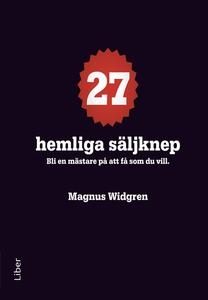 27 hemliga säljknep (e-bok) av Magnus Widgren
