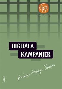 Digitala kampanjer (e-bok) av Anders Häger Jöns