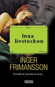 Inga livstecken (e-bok) av Inger Frimansson