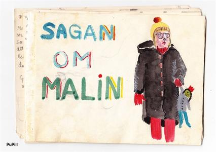 Sagan om Malin (e-bok) av Åke Norlander