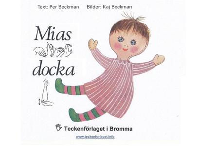 Mias docka - Barnbok med tecken för hörande bar