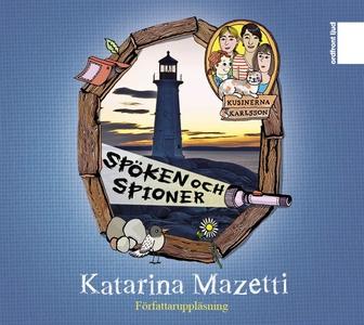 Spöken och spioner (ljudbok) av Katarina Mazett