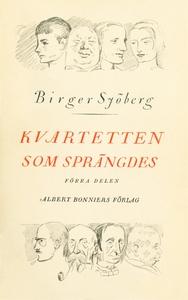 Kvartetten som sprängdes (e-bok) av Birger Sjöb