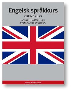 Engelsk språkkurs (ljudbok) av Ann-Charlotte We