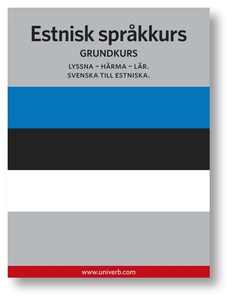 Estnisk språkkurs (ljudbok) av Ann-Charlotte We