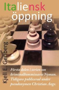 Italiensk öppning (e-bok) av Kjell E. Genberg