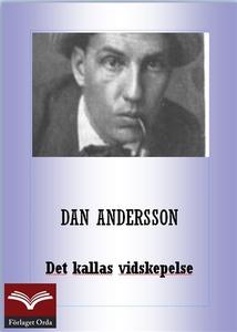Det kallas vidskepelse (e-bok) av Dan Andersson