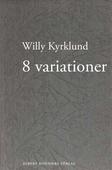 8 variationer : prosa