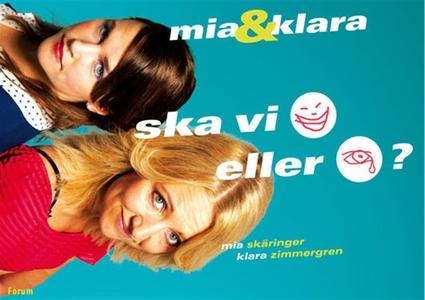 Mia & Klara : Ska vi skratta eller gråta? (e-bo