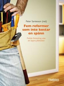 Fem reformer som inte kostar en spänn: Politisk