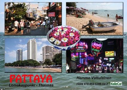 Pattaya lomakaupunki - Thaimaa / e-valokuvakirj