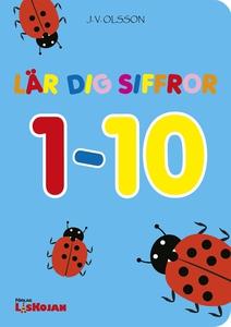 Lär dig siffror 1-10 (e-bok) av J.V. Olsson