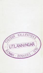 Utlänningar (e-bok) av Theodor Kallifatides