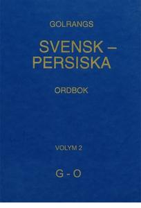 Golrangs svensk persiska ordbok, volym 2, G - O