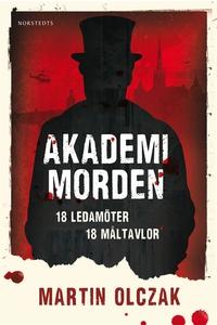 Akademimorden (ljudbok) av Martin Olczak