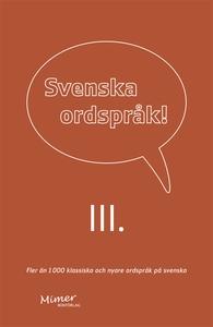 Svenska ordspråk : III (e-bok) av  Frejvid (red