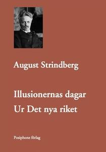 Illusionernas dagar (e-bok) av August Strindber