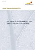 Sverige som universitetsmarknad