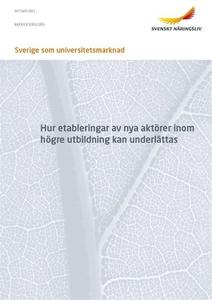 Sverige som universitetsmarknad (e-bok) av  Kra