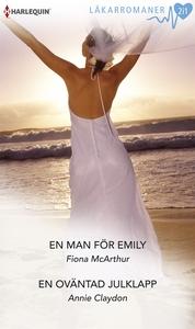 En man för Emily/En oväntad julklapp (e-bok) av