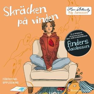 Skräcken på vinden (ljudbok) av Anders Jacobsso