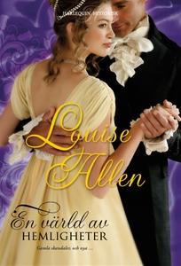 En värld av hemligheter (e-bok) av Louise Allen
