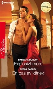 Explosivt möte/En oas av kärlek (e-bok) av Tess