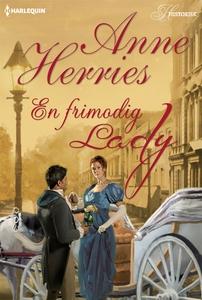 En frimodig lady (e-bok) av Anne Herries