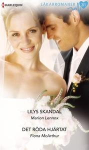 Lilys skandal/Det röda hjärtat (e-bok) av Fiona