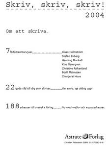 Skriv, skriv, skriv! (e-bok) av Christer Petter