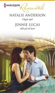 Vågat spel/Allt på ett kort (e-bok) av Jennie L
