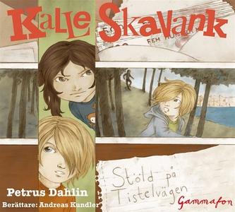 Stöld på Tistelvägen (ljudbok) av Petrus Dahlin
