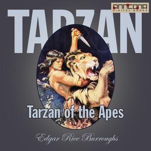 Tarzan of the Apes (ljudbok) av Edgar Rice Burr