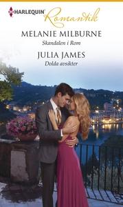 Skandalen i Rom/Dolda avsikter (e-bok) av Melan