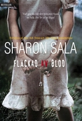 Fläckad av blod