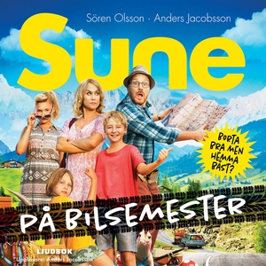 Sune på bilsemester (ljudbok) av Sören Olsson,