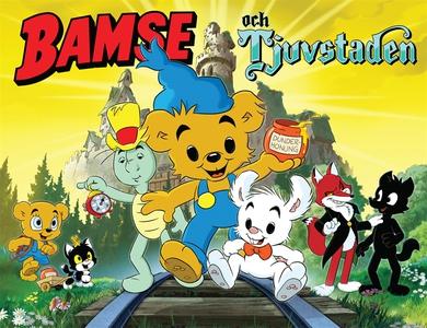 Bamse och Tjuvstaden (e-bok) av Joakim Gunnarss