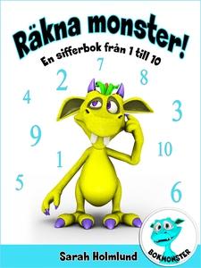 Räkna monster! En sifferbok från 1 till 10 (e-b