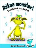 Räkna monster! En sifferbok från 1 till 10