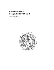 Hammerdals/Gåxsjö Historia Del 1 (e-bok) av Gun