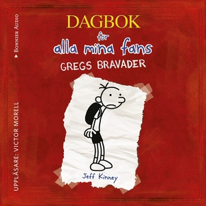 Gregs bravader (ljudbok) av Jeff Kinney