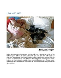 LEVA MED KATT (e-bok) av Acke Jernberger