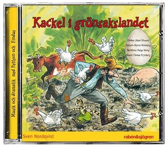 Kackel i grönsakslandet (ljudbok) av Sven Nordq