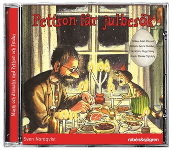 Pettson får julbesök (ljudbok) av Sven Nordqvis