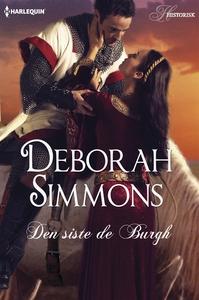 Den siste de Burgh (e-bok) av Deborah Simmons