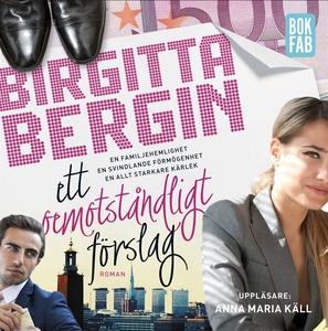 Ett oemotståndligt förslag (ljudbok) av Birgitt